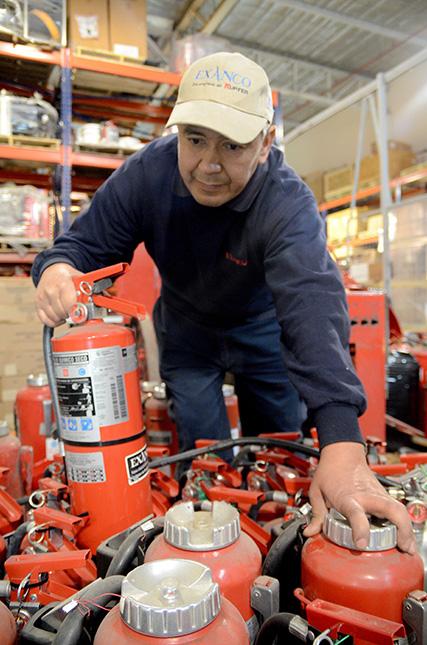 Servicios | Exanco ingeniería y equipos contra incendio